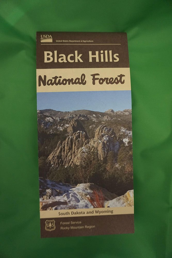 Black Hills National Forest Recreation Map - 2017 | Black Hills ...