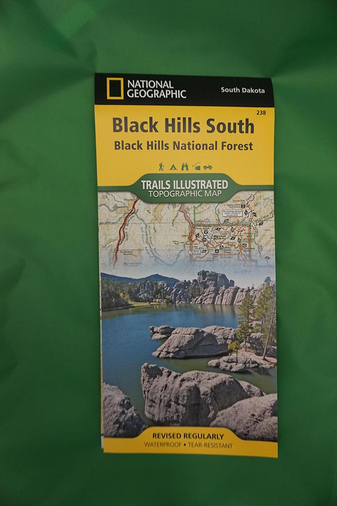 Trails Illustrated Topographic Maps Of The Black Hills