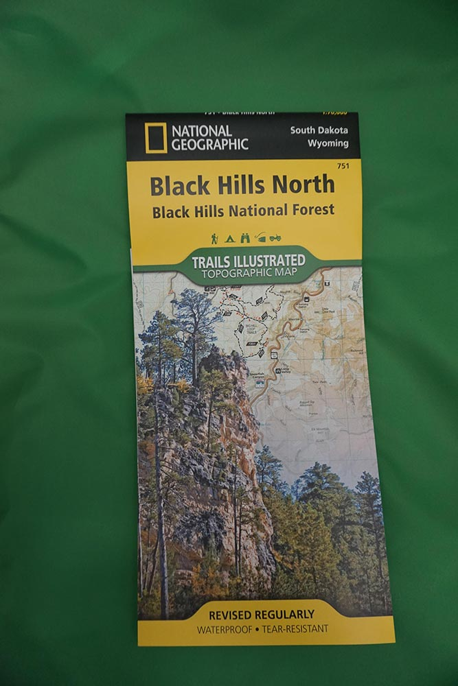 Hill Topographic Map.Trails Illustrated Topographic Maps Of The Black Hills