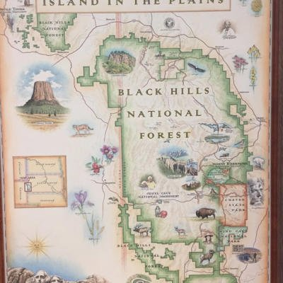 Black Hills Xplorer Map