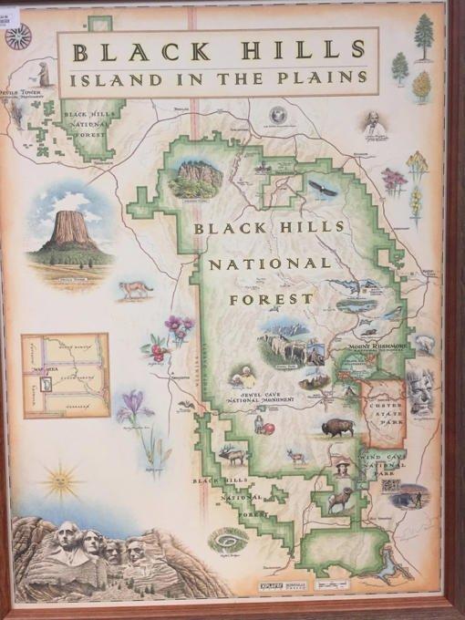 Black Hills Xplorer Map