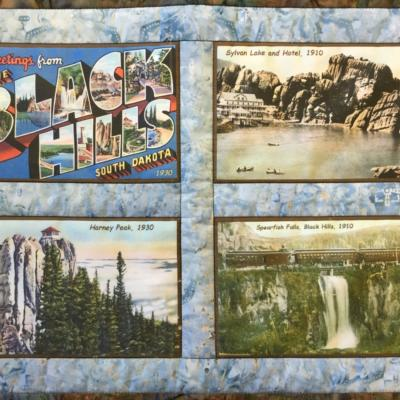 Black Hills Vintage quilt block set