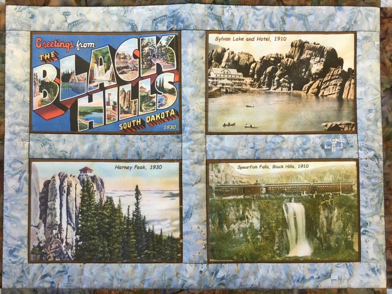 Black Hills Vintage quilt block set