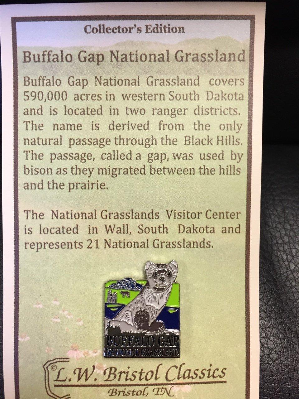 Buffalo Gap National Grassland pin