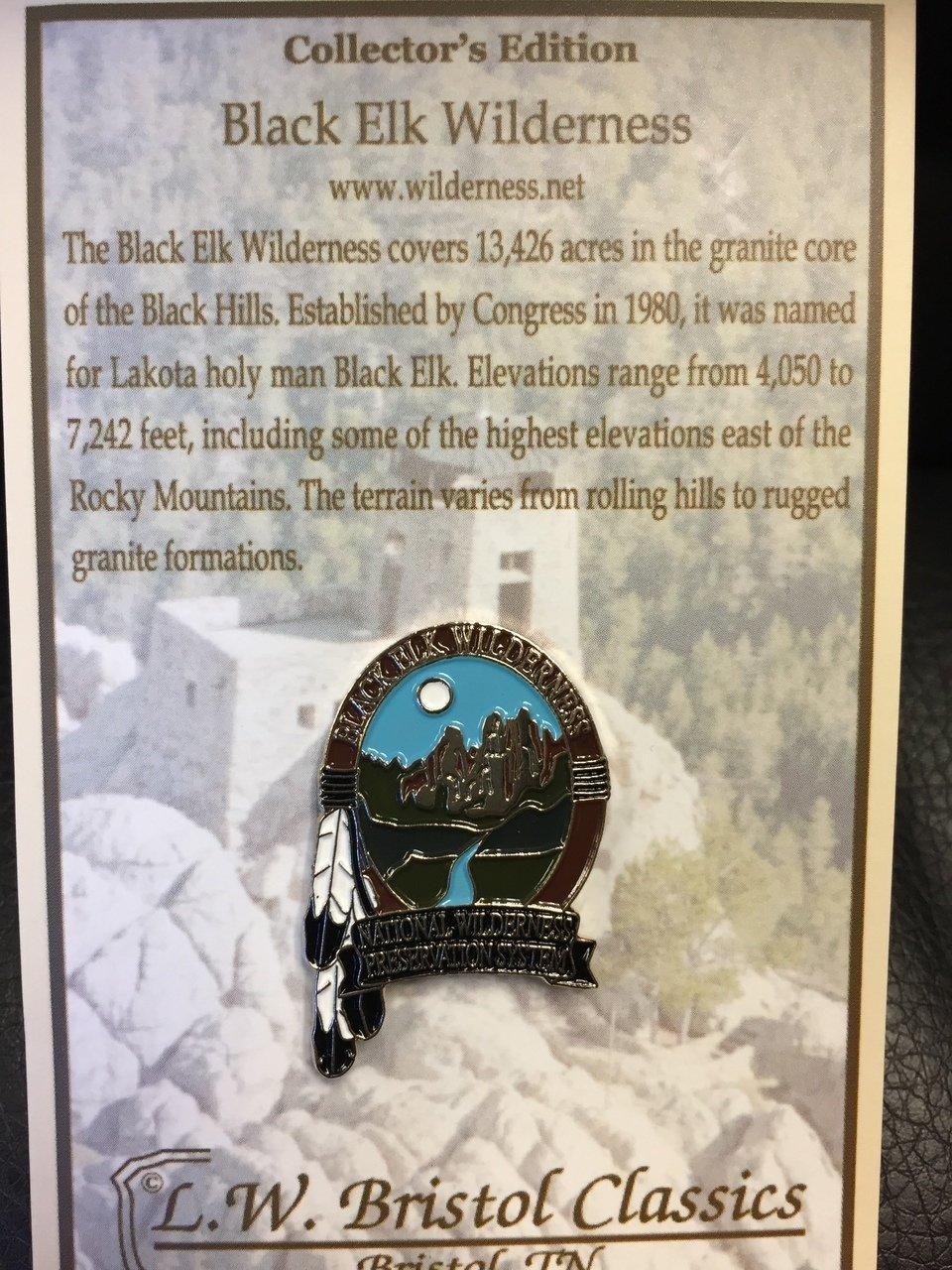 Black Elk Wilderness pin