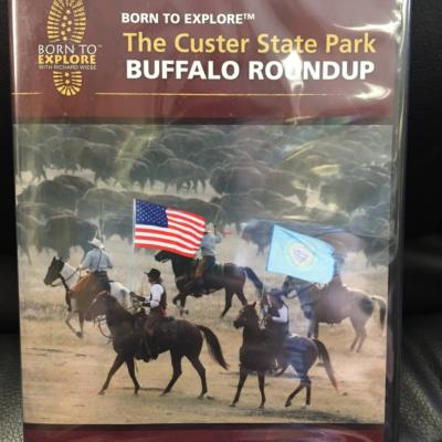 The Custer State Park Buffalo Round Up DVD