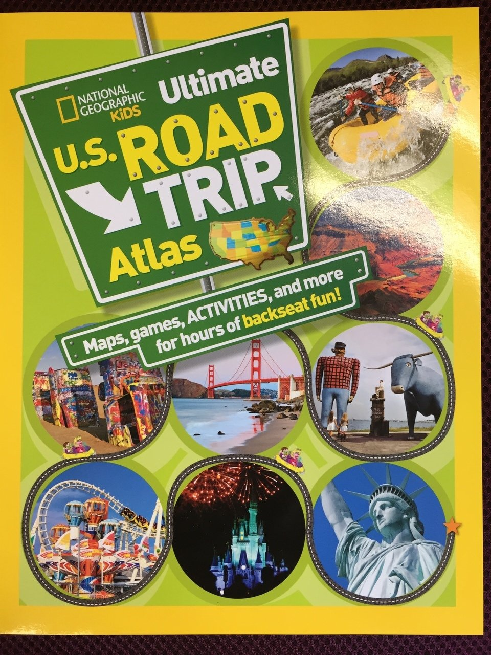Ultimate U.S. Road Trip Atlas