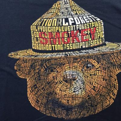 Smokey Word Cloud shirt