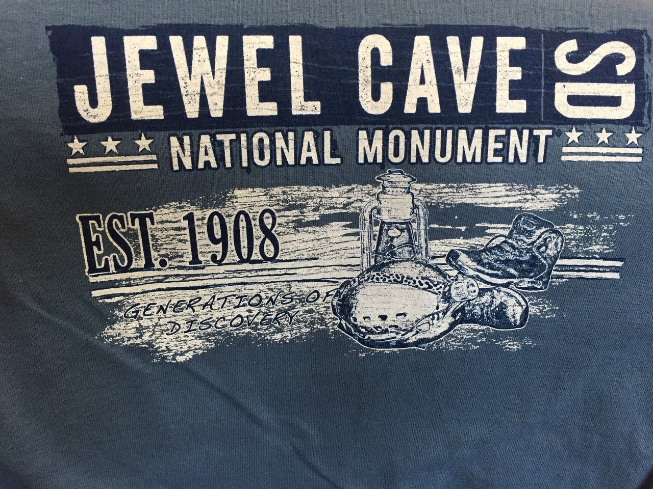 Jewel Cave Short Sleeve t-shirt (adult)