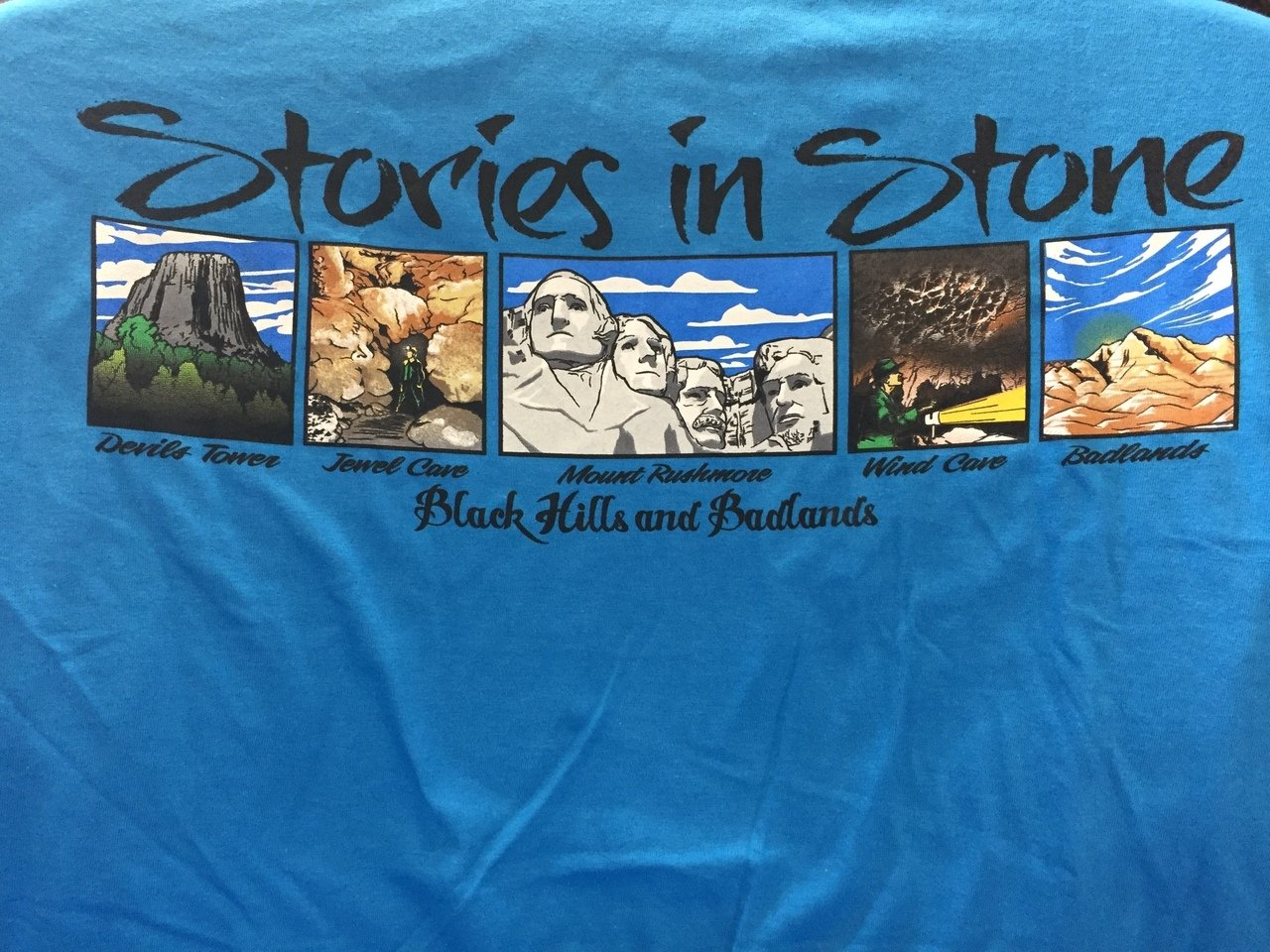 Stories in Stone t-shirt-Adult