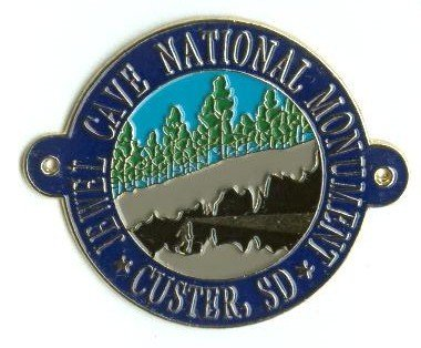 Jewel Cave Pins and Hiking Medallions