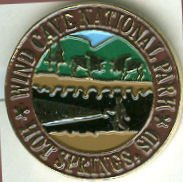 Wind Cave Pins and Hiking Medallions
