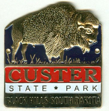 Custer State Park Pins and Hiking Medallions