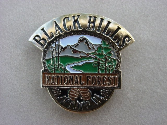 Black Hills National Forest Pins and Hiking Medallions