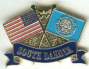 United States Themed Pins and Hiking Medallions