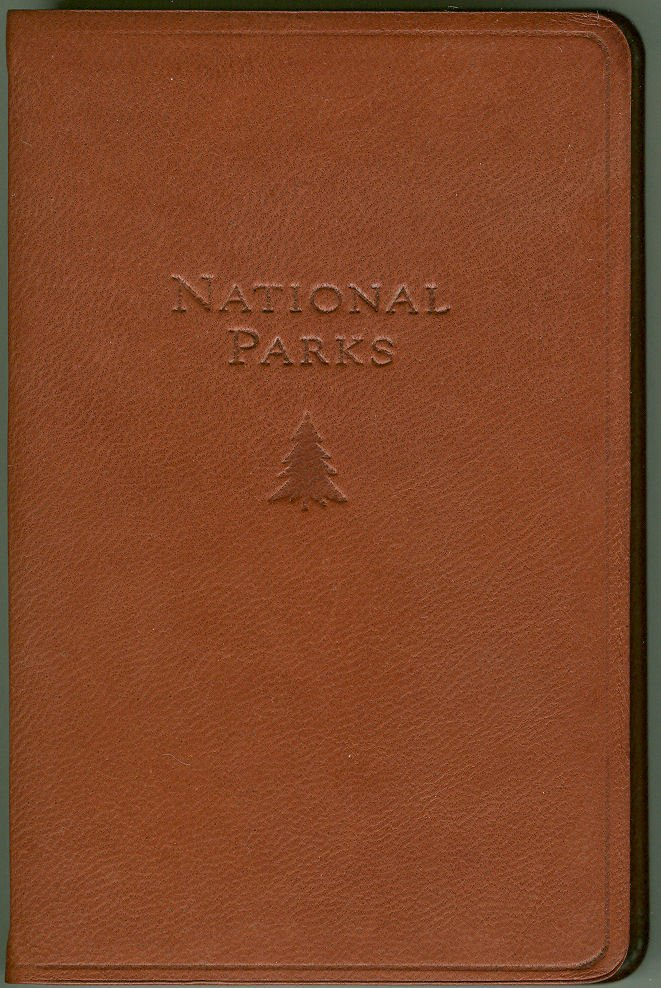 National Parks Atlas - Color Maps and Visit Record