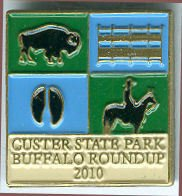 Custer State Park Buffalo Round Up Pins