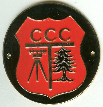 Civilian Conservation Corps Pins, Hiking Medallions and Accessories