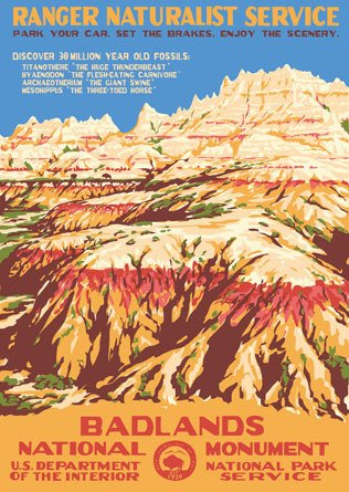 National Park Service WPA Posters
