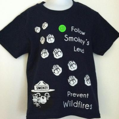 Smokey - Follow Smokey's Lead Youth T-shirt