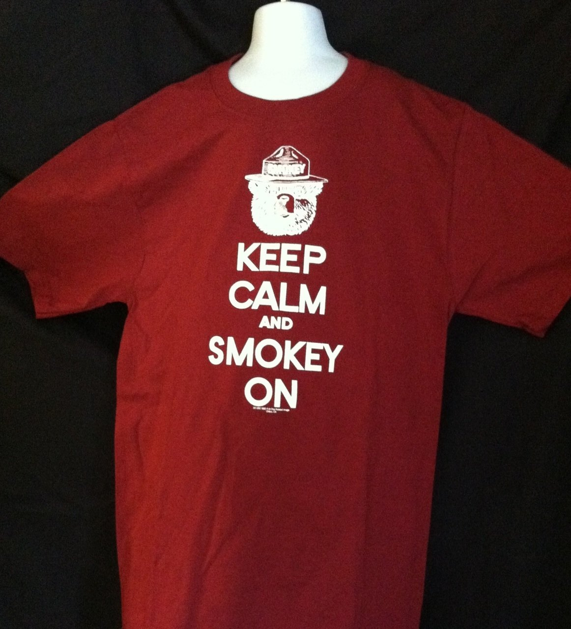 Smokey - Keep Calm and Smokey On T-shirt