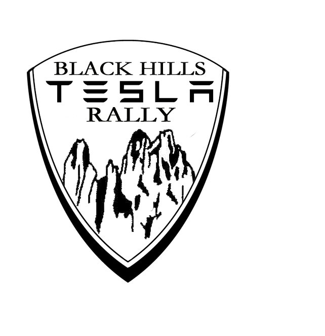 Black Hills Tesla Rally Pin