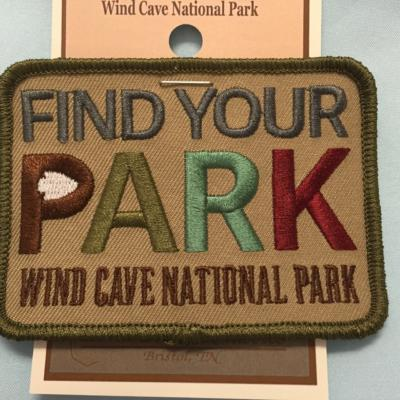 Find Your Park Patch Wind Cave