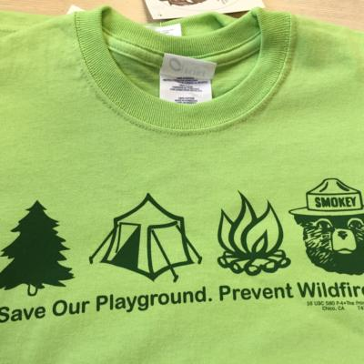Save Our Playground tee