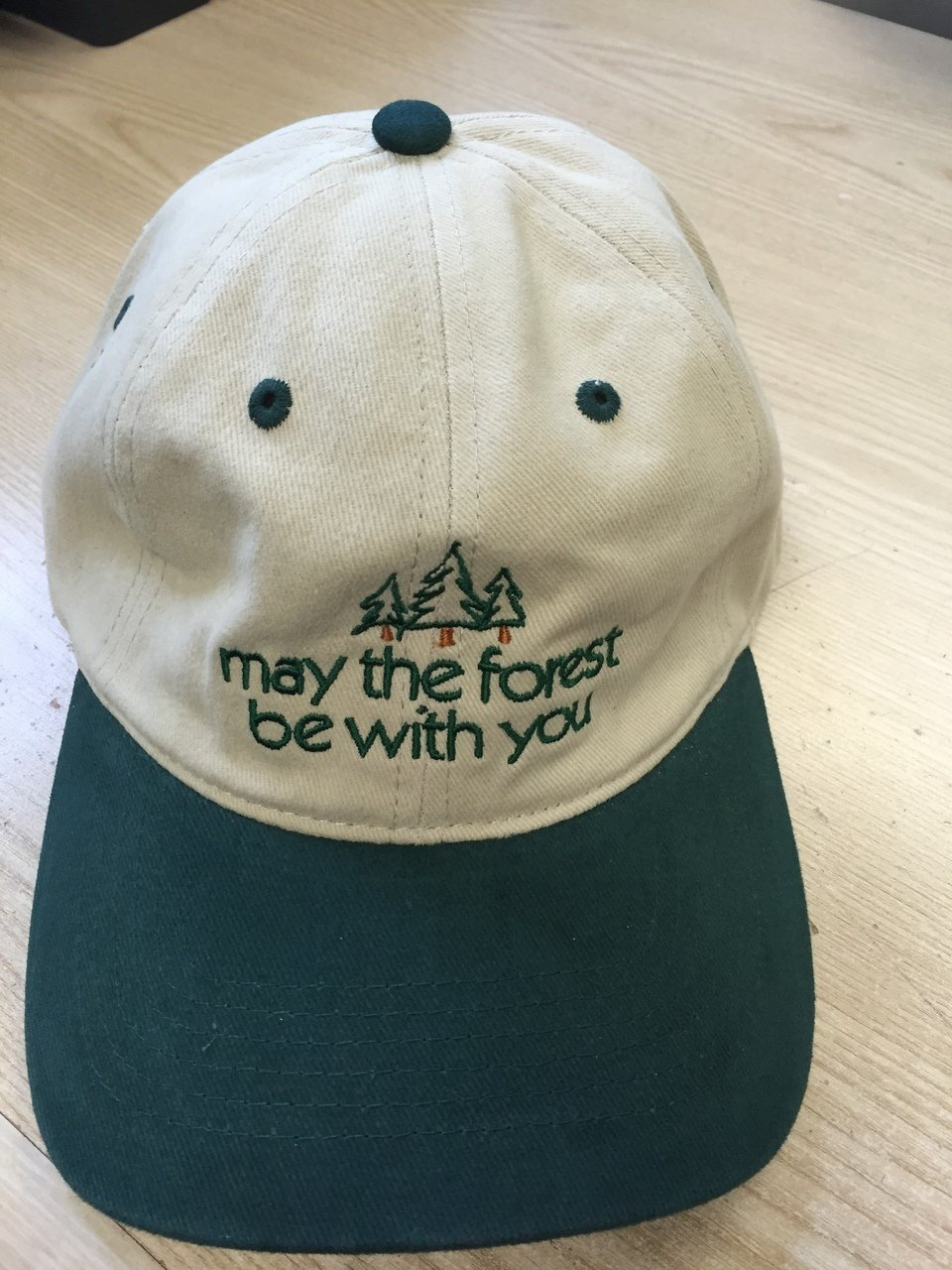 May the Forest Be with you baseball cap