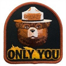 Only You Smokey Bear patch