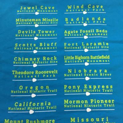 Find Your Park shirt (adult)