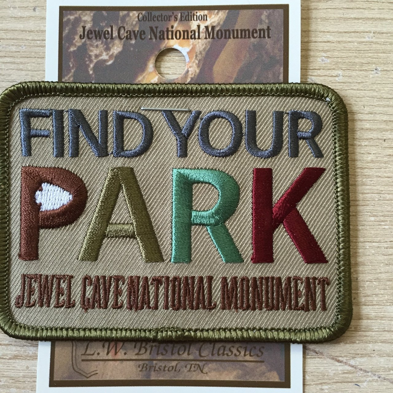 Find Your Park Patch Jewel Cave