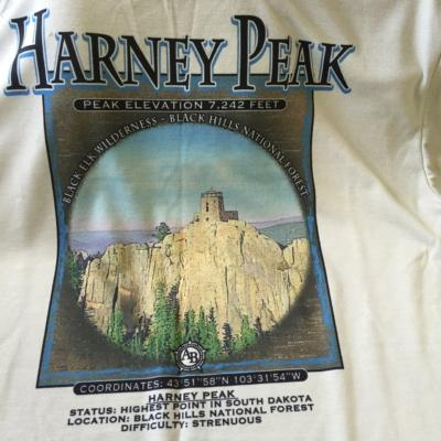 Wicking Poly Harney Peak t-shirt