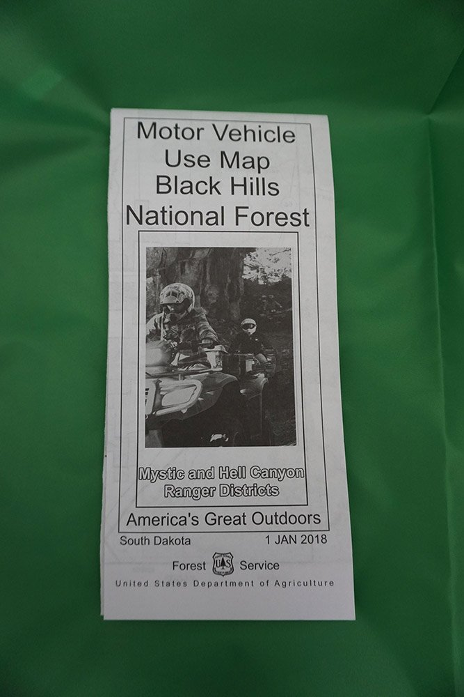 Black Hills National Forest Annual Motorized (MVU) Trail Permits