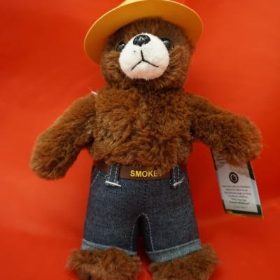 "8"" Smokey Bear Doll"