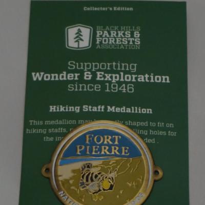 Fort Pierre hiking medallion