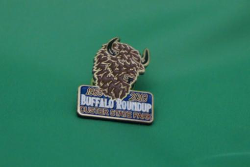 2018 Buffalo Round Up Pin