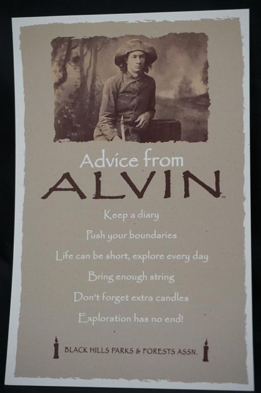 Postcard Advice From Alvin