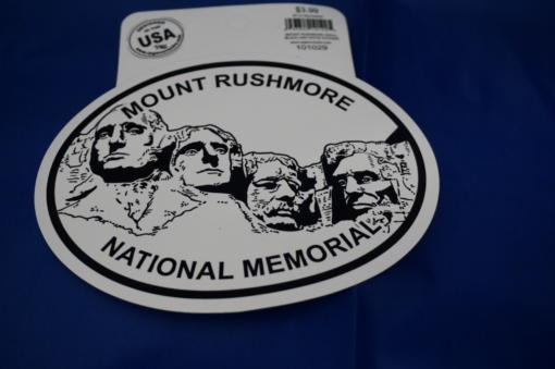 Mt Rushmore sticker