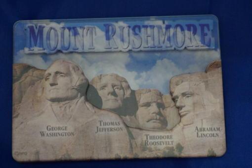 Mt Rushmore 3D magnet