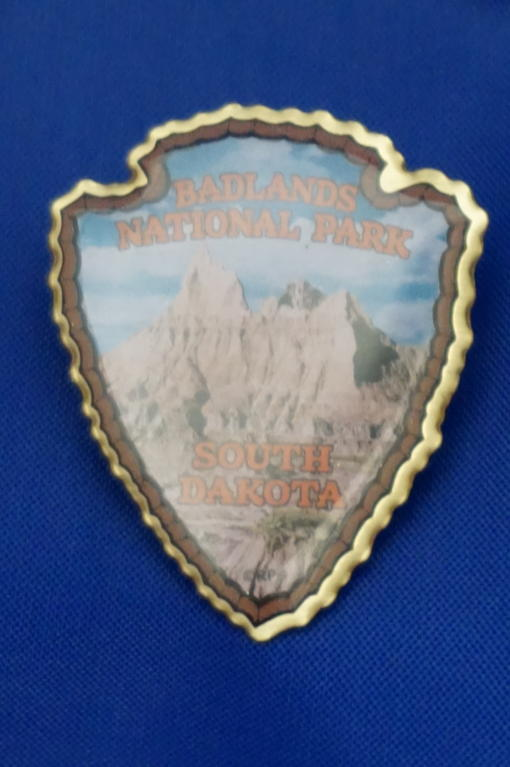 Badlands pin