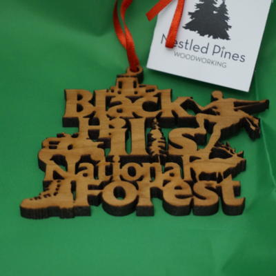 Black Hills National Forest ornament