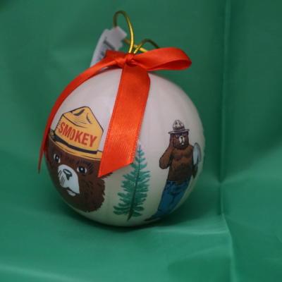 Smokey Ornament-round
