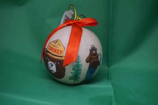 Smokey Ornament-round