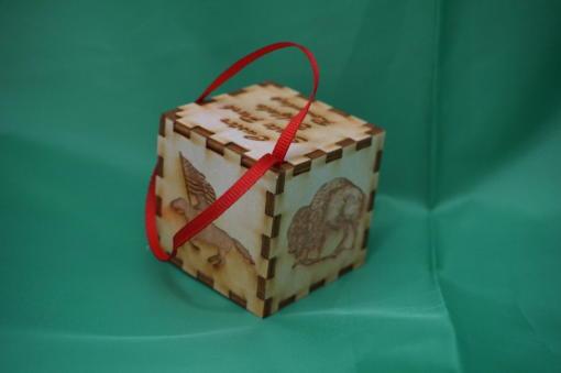 CSP Puzzle ornament II