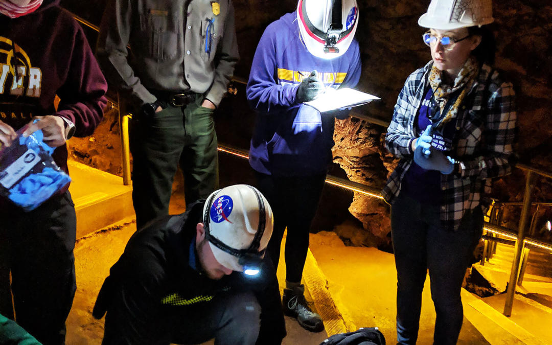Astrochemistry Students and NASA Scientist Study Wind Cave