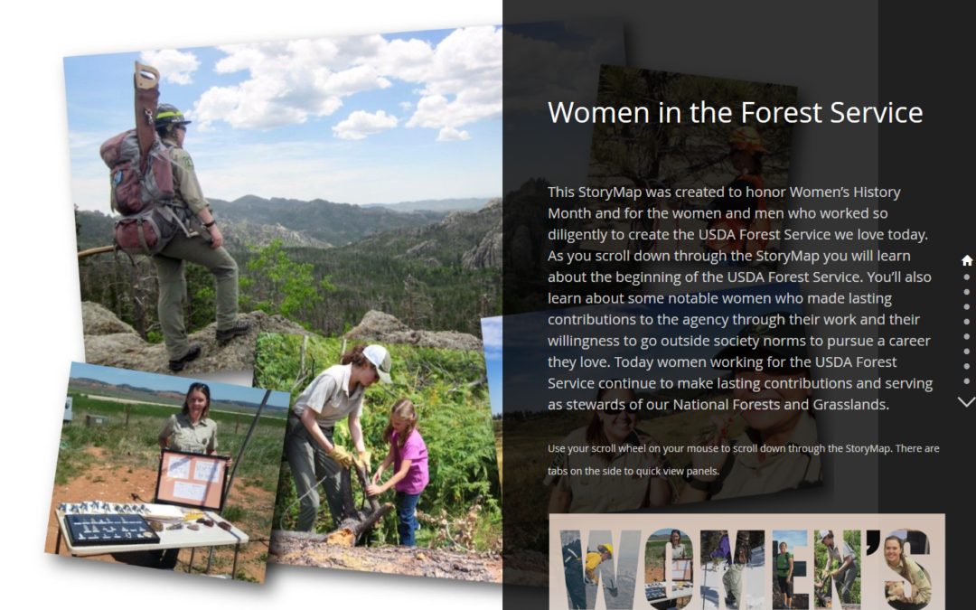 Women's History Month Story Map