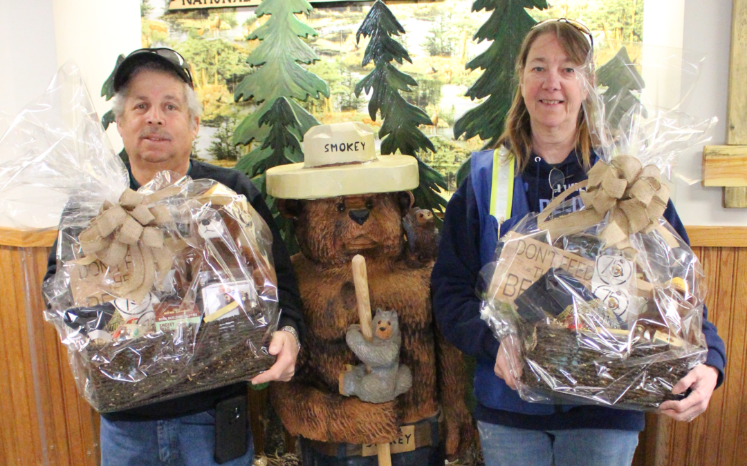 BHPFA Provides Smokey Bear Prize Baskets