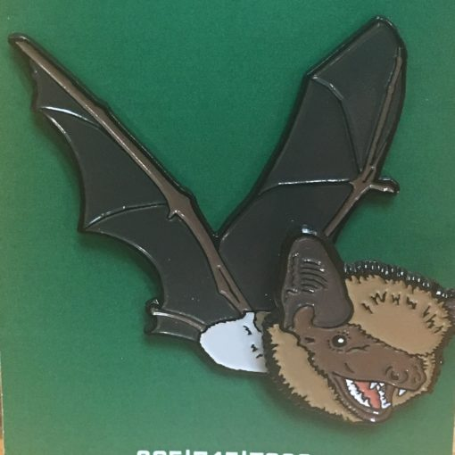 Bobble-Head Bat Pin
