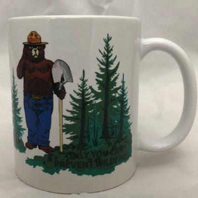 Smokey Bear Magic Mug